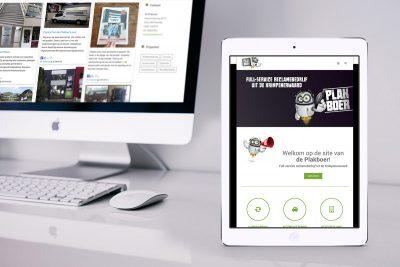 De Plakboer website Studio Kaboem