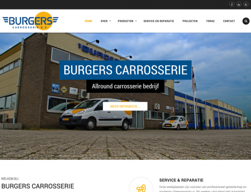Burgers Carrosserie | Website