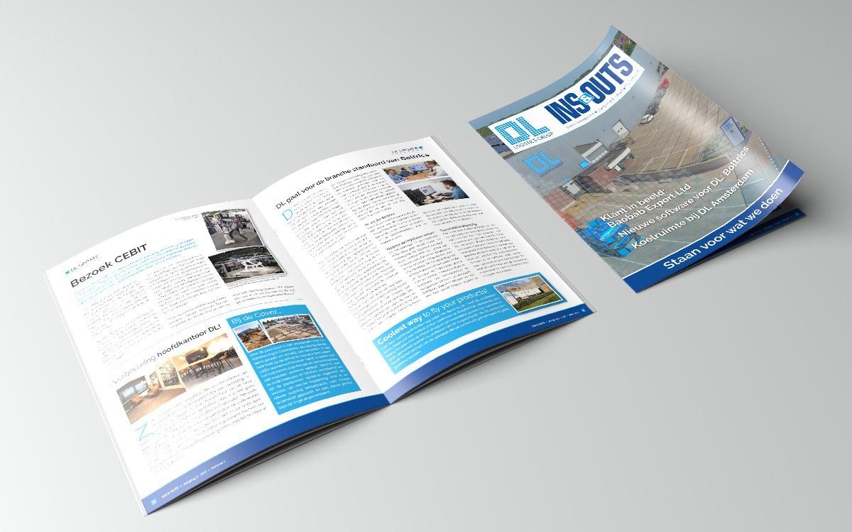 DL-magazine brochure Studio Kaboem