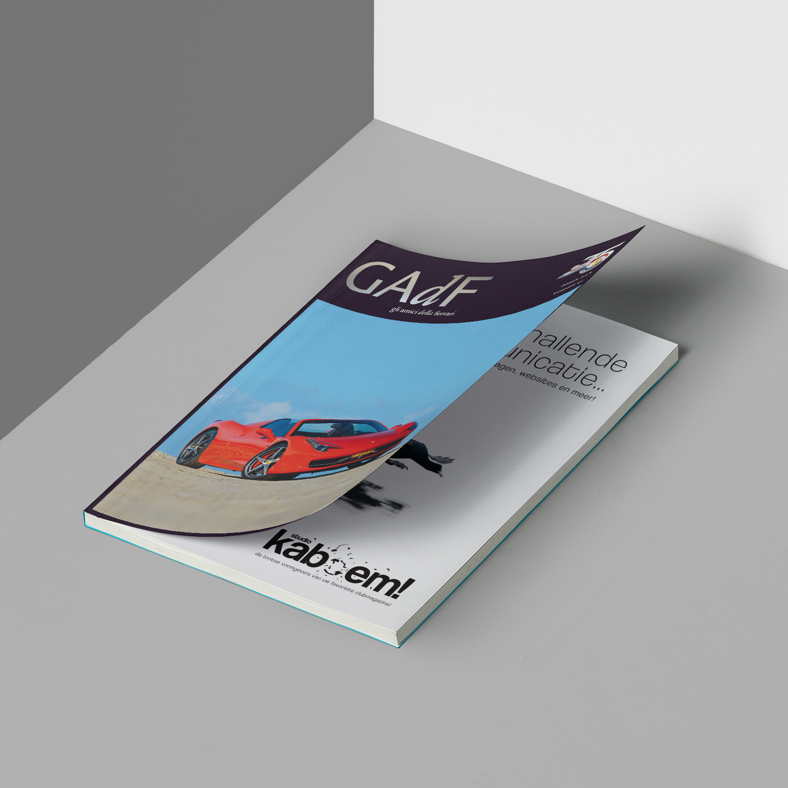 GAdF Ferrari Magazine Studio Kaboem