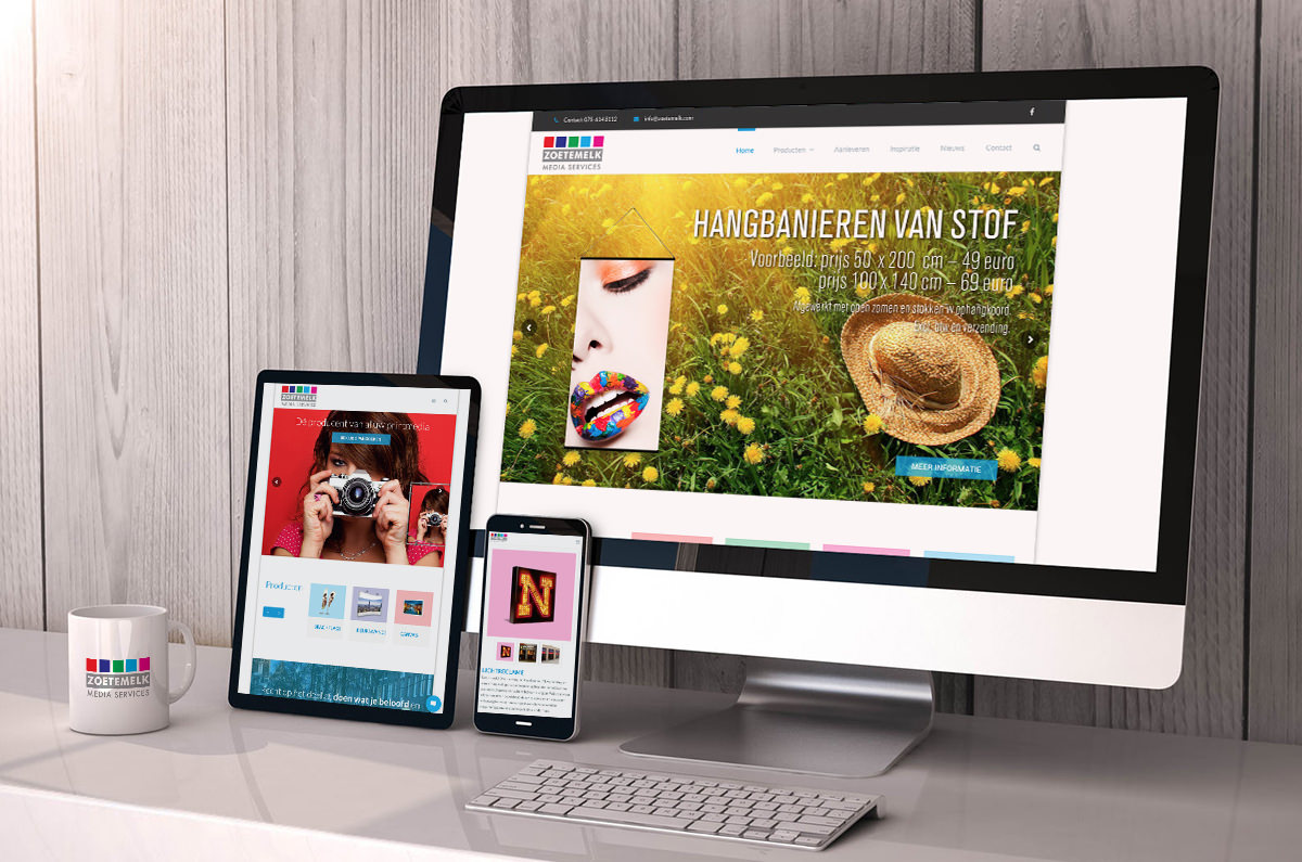 Zoetemelk Media website Studio Kaboem