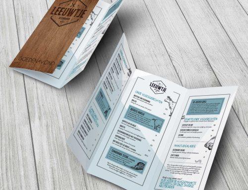 Nieuwe menu- & lunchkaart Bistrobar 't Leeuwtje