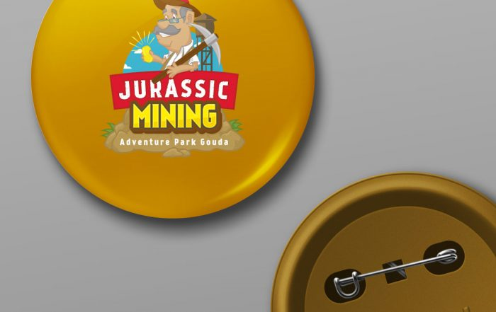 Jurassic Mining logo Studio Kaboem!