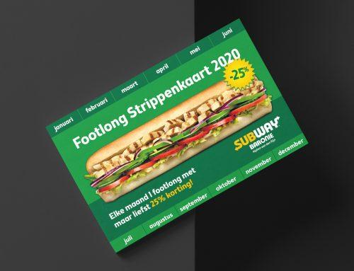Subway Alphen aan den Rijn strippenkaart