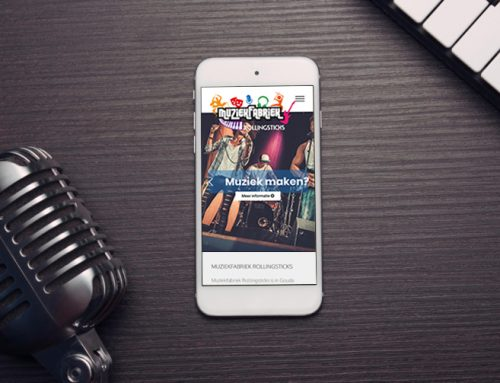 Muziekfabriek Rollingsticks in Gouda website